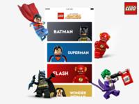 Lego Super Heroes app proposal
