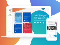 Buenos Aires 2018 Youth Olympic Games website