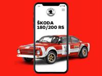 Skoda Rally 🚘 📱