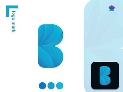 Modern Letter B design color logo logo mark branding logo brand identity minimalist logo moderm logo b logo b letter b letter logo logo branding typography logotype logos logodesign