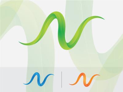 N Letter Logo designer vector colors gradient letter logos newsletter company newn new letter logo logo