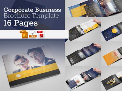 A5 Business Brochure/Catalog illustrator brochure brochure mockup a5 brochure landscape brochure portfolio informational corporate catalog brand guidelines agency proposal brochure proposal