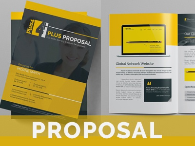 Proposal business branding proposal agency proposal a4 download manual brand agency web print design creative graphic proposal template