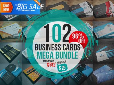 Free Business Card free template mega bundle clean design creative market business card designer primium template 100business card cards free business card