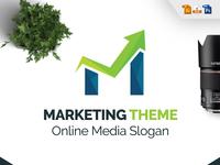 Marketing M Letter Logo