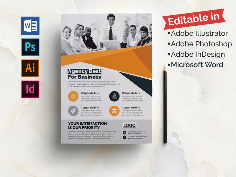 Multiple Software Editable- Corporate Flyer business template cristal-p corporate layouts business flyer flyer flyers vector technology photoshop flyer docs flyer multiple software flyer multipurpose flyer word doc digital psd flyer indesign flyer microsoft word flyer