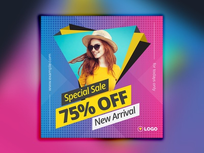 Instagram Social Media Post Template promotions promotion multipurpose multi purpose model banner marketing instragram promo instagram promotional instagram sale banner google adwords fashion banner discount deal coupon banners square sale template banner promotion banner pack adroll