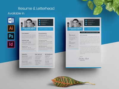 Word Resume letterhead ms word microsoft word job resume job file eps resume docx document designer resume design cv design cristal-p cover letter clean resume clean cv curriculum vitae resume design cv resume