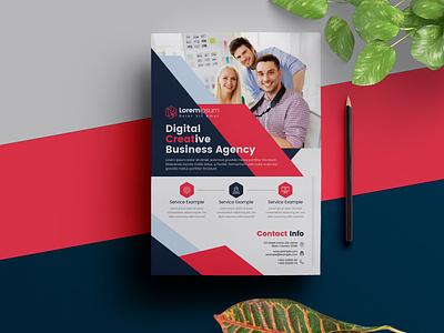 Business Flyer Template flyer design corporate ui designer business illustration design cristal-p template graphicriver flyer creative market