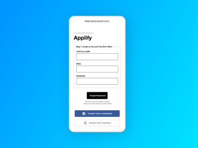Another form asking you for stuff #CreateWithAdobeXD design form simple clean interface ux flat