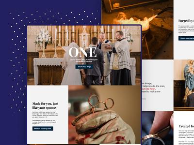 Website - Handcrafted Jewelery design homepage web design