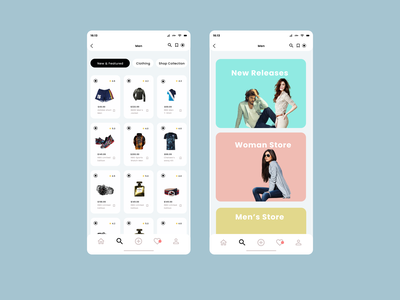 All Star Fashion App manuelrovira apparel design adobexd figma buttons icons fashionapp appuiuxdesign appuiux