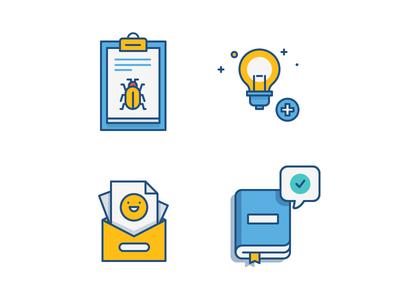 Atlassian Give Feedback Icons feedback icon pack design icons atlassian fireart studio fireart