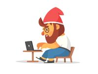 Gnome Maskot