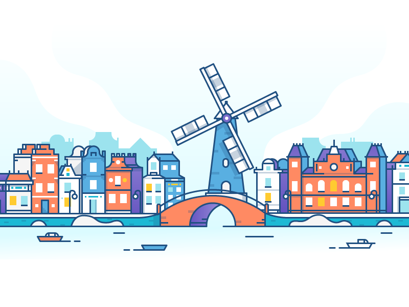 Amsterdam dribbble