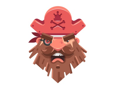 Pirate Business fireart studio 2d illustration