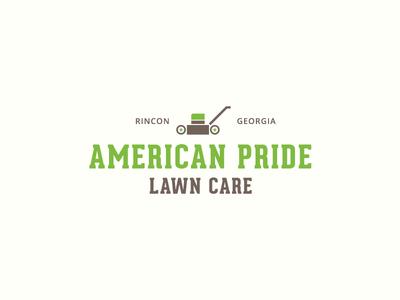 Unused Logo mower mow lawn care branding illustration vector logo