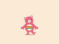 CareBears - Cheer Bear
