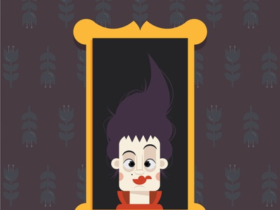 WIP - Hocus Pocus Mary hocus pocus witch halloween cartoon design icon character character design vector illustration