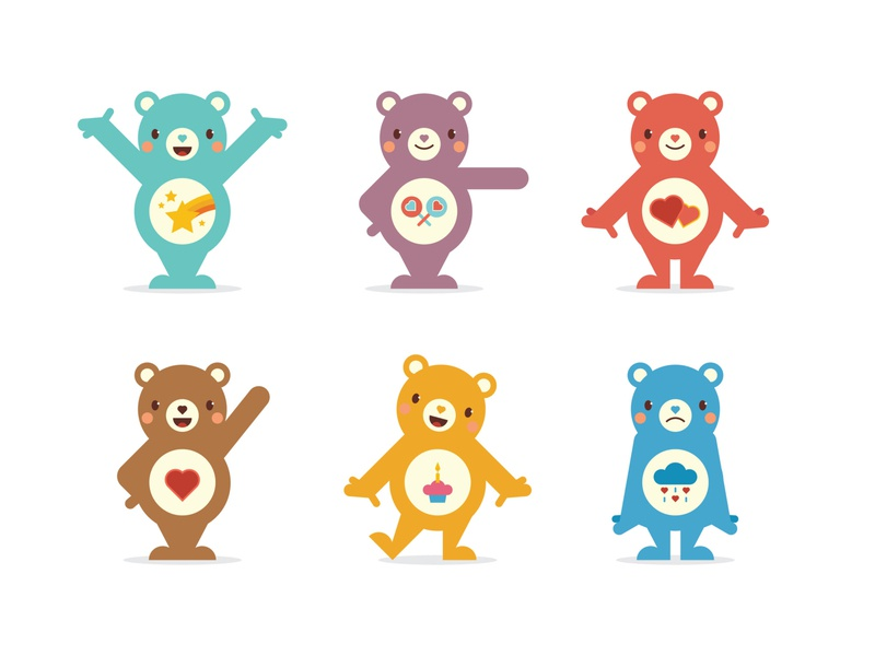 Care Bears 1 design bear illustration character design character vector care bears