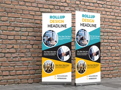 Rollup Banner company design rollup rollup banner design