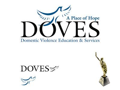 DOVES Logo Design doves logo design marcom gold