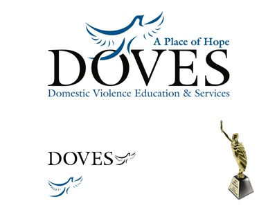 DOVES Logo Design doves logo design marcom gold