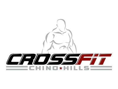 CROSSFIT Chino Hills - Logo Design logo design crossfit branding