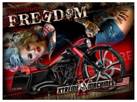 XTREME MACHINE - Find Your FREEDOM - Poster
