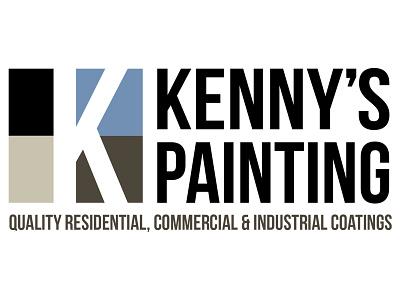 Kennys Painting - Logo Design logo identity branding logo design