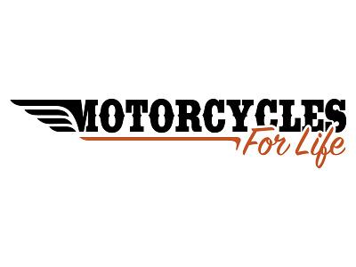 Motorcycles For Life - Logo Design logo identity branding logo design