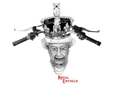 Royal Enfield - Shirt Design apparel the queen motorcycles royal enfield shirt design
