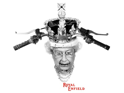 Royal Enfield - Shirt Design apparel the queen motorcycles royal enfield shirt design