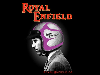 Royal Enfield - Charles Shirt Design apparel prince charles motorcycles royal enfield shirt design
