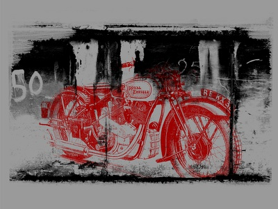 Royal Enfield - Shirt Design apparel bike motorcycles royal enfield shirt design