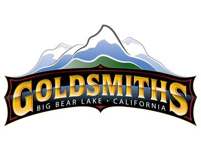 GOLDSMITHS Board Shop - logo design big bear lake identity branding mountains design logo