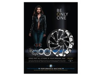 Performance Machine - Del Rey Wheel - Print Ad