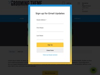 Email List Signup Form