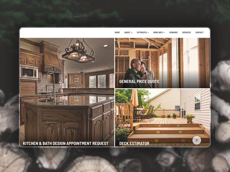Template Content Block form content block website wedding