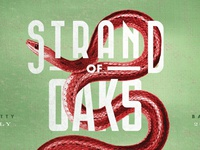 Strand of Oaks Shitty Barn Gig poster