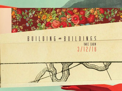 Building on Buildings gig poster