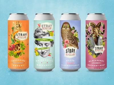Stray Forth - Craft Hard Seltzer 16oz cans