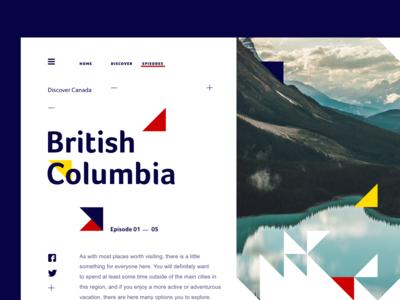 Travel to British Columbia