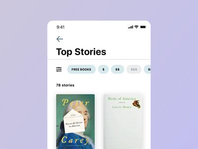 Top Stories Screen