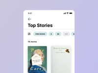 Top Stories Screen