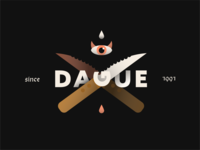 Dague - Design Exploration exploration weird flat design eye illustration flat