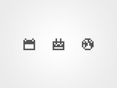 Icons 8x8 icons pixel