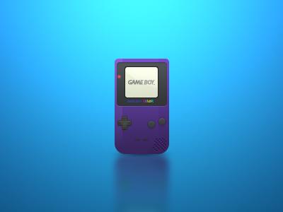 Gameboy Color Icon gameboy color icon photoshop