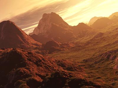 3D Landscape 3d landscape mountains