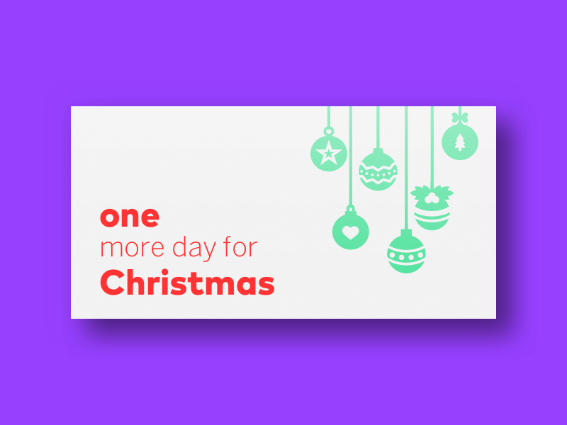 coming soon christmas card sketch dailyui